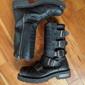 Harley-Davidson Side Light Motorcycle Boots